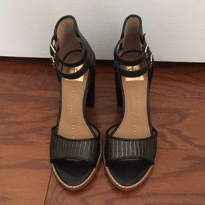 Dolce Vita black chunky heels
